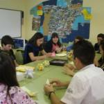 Papiroflexia en el IES Carpetacia de Yepes