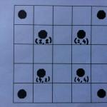 5.- Marca las celdas correspondientes