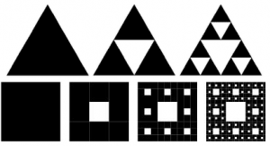 Triangulo y Alfombra de Sierpinski