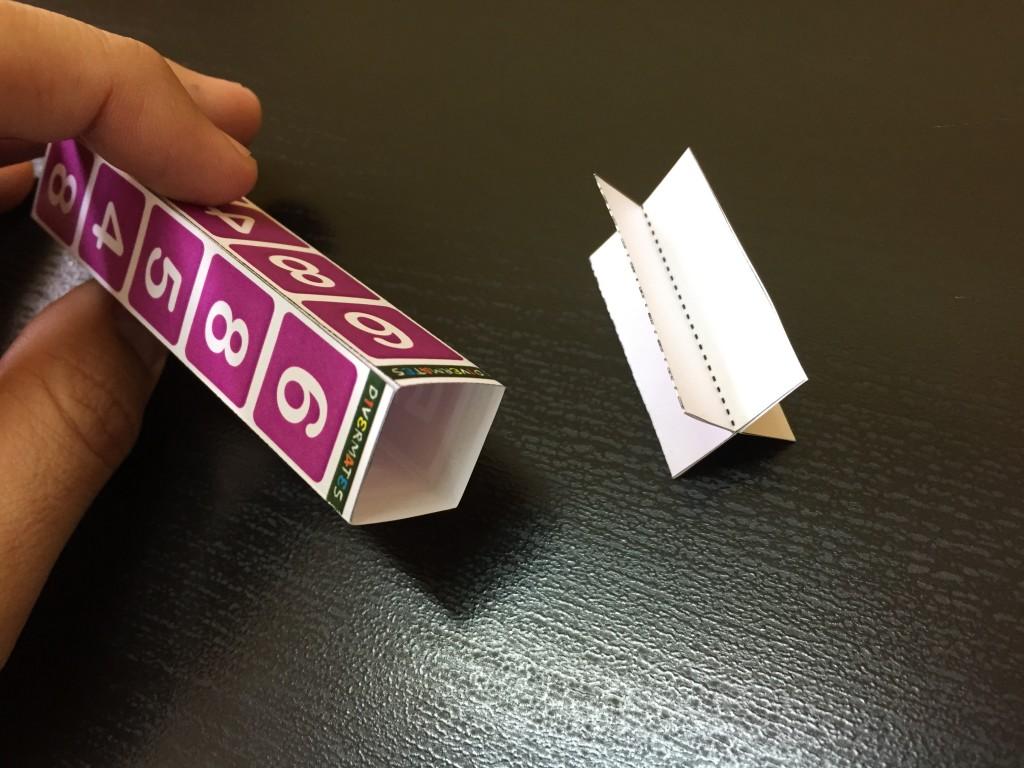 Las dos piezas por separado