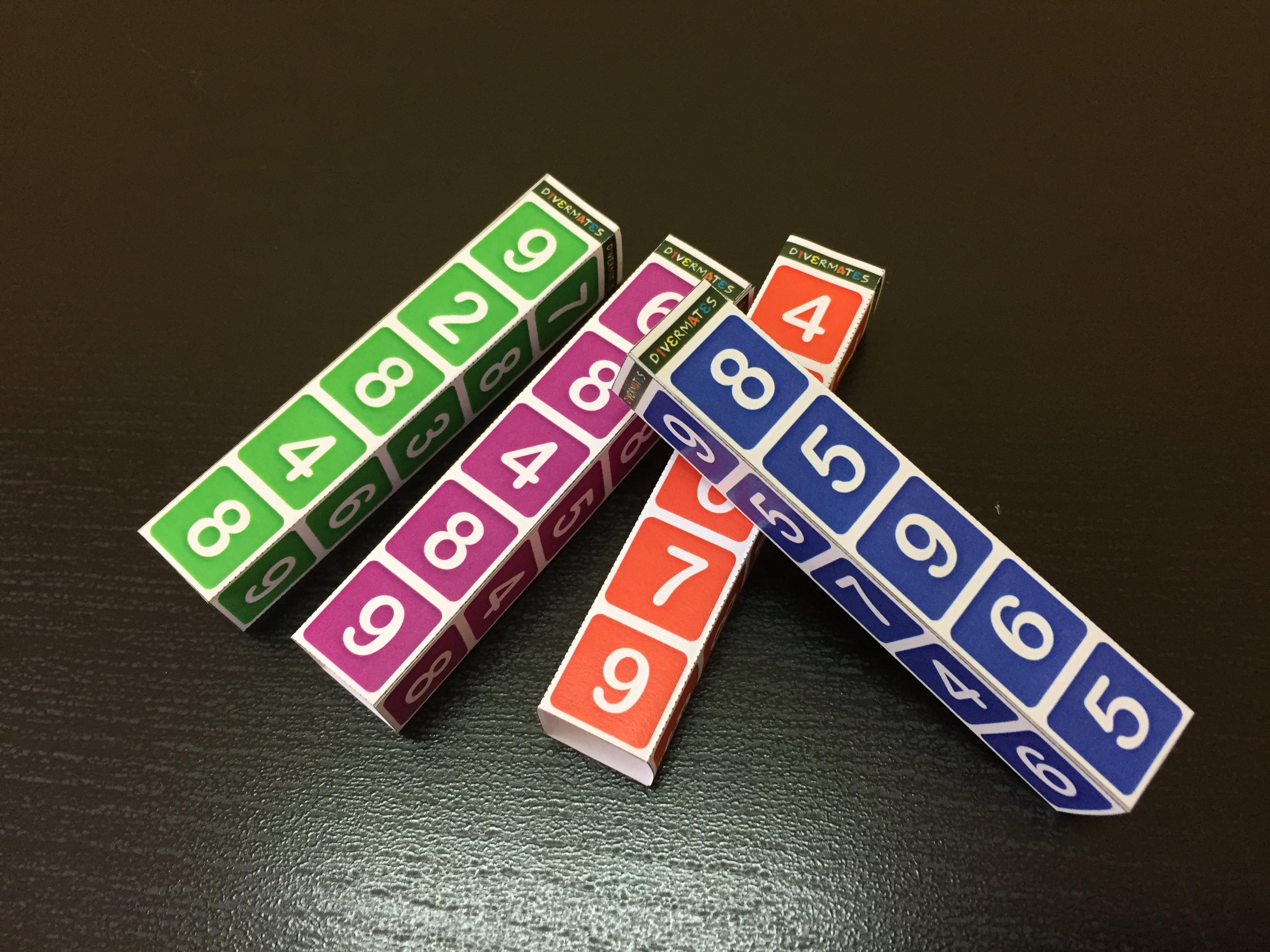 barras de sumas. matemáticas a la calle
