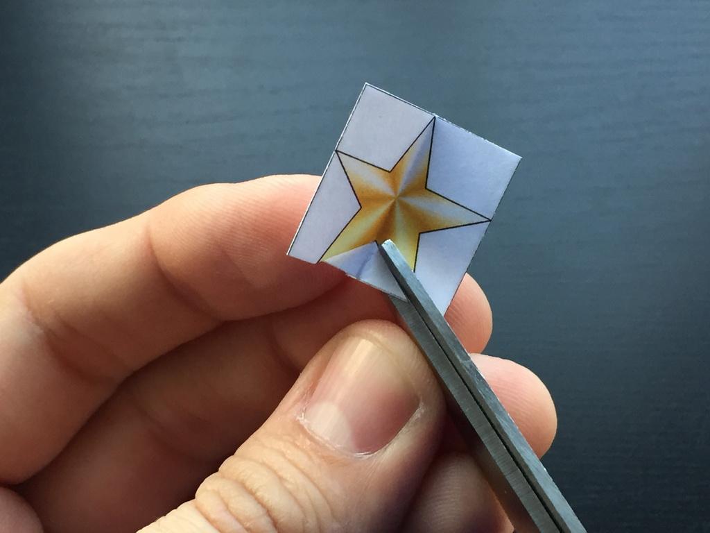 recortamos la estrella