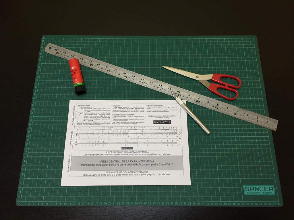 regla-de-cálculo--materiales